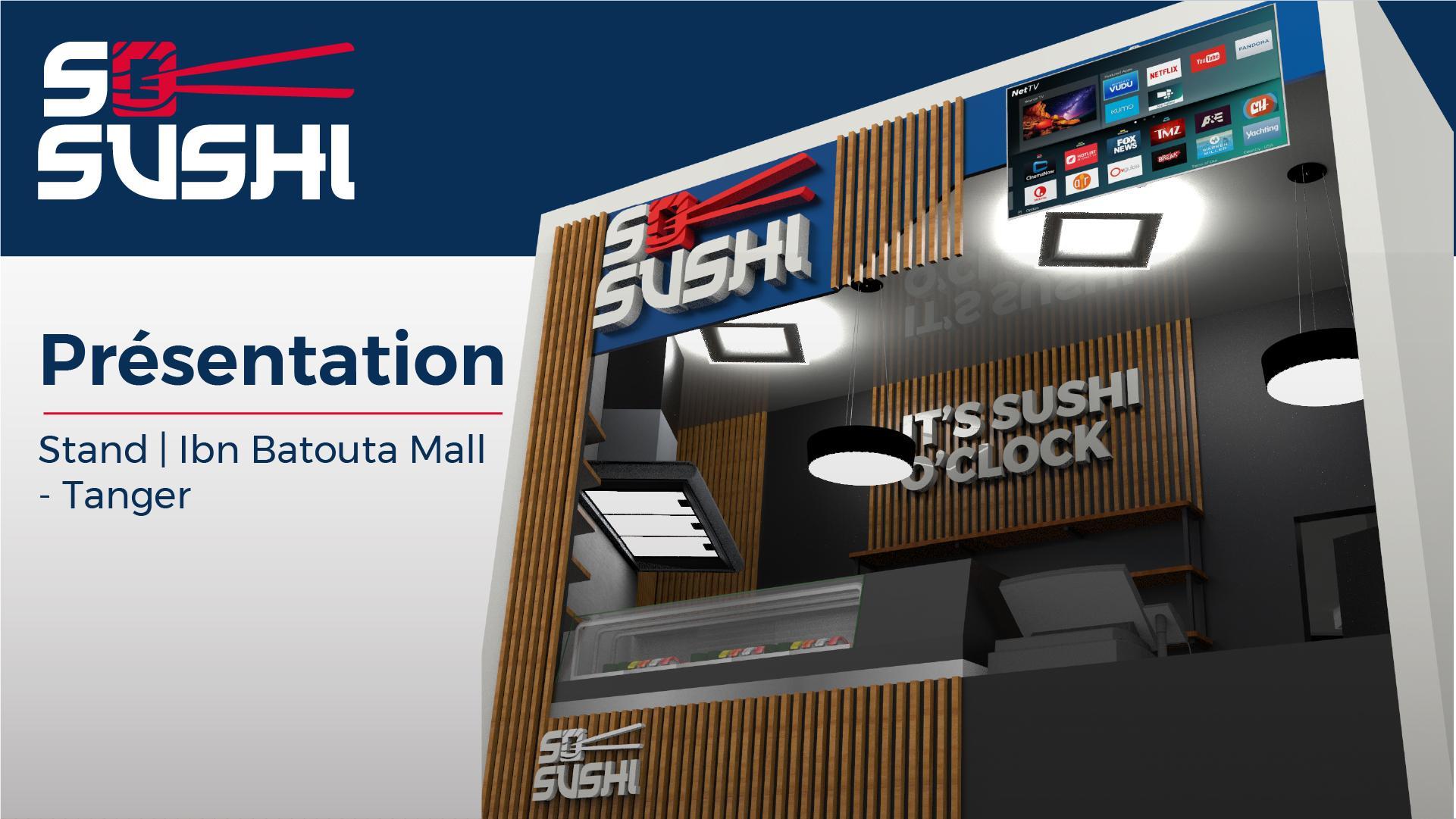 Sosushi | Présentation - Stand